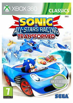 Sonic and All Stars Racing Transformed: Classics (Xbox 360) [New Game]