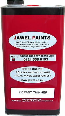 2K Thinner For Acrylic and Basecoat Car Paint Universal (SLOW ) 2.5 Litre