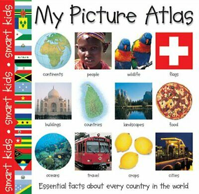 My Picture Atlas (Smart Kids S.), Roger Priddy Hardback Book The Cheap Fast Free