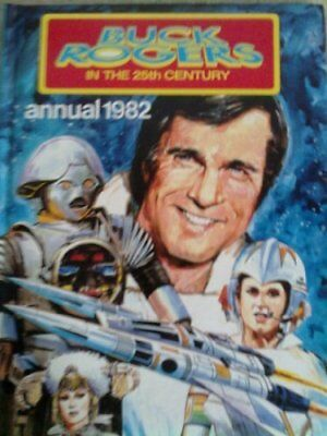 BUCK ROGERS IN THE 25TH CENTURY ANNUAL 1982 by PAUL S. NEWMAN Book The Cheap