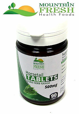 Horsetail All Natural Tablets 500mg 30,60,90 & 120`s FREE  UK Postage