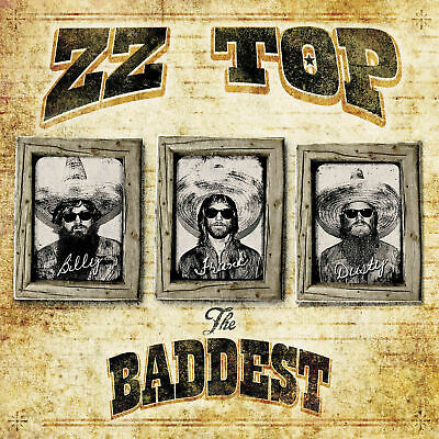 ZZ TOP THE VERY BADDEST OF 2CD ALBUM SET (Greatest Hits) (June 9th 2014)