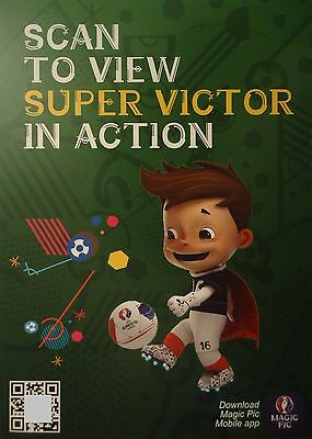 Karte UEFA Euro 2016 France Scan to view Super Victor in action