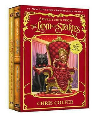 Adventures from the Land of Stories Set: The Mother Goose Diaries and Queen Red