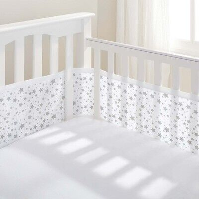 Breathable Baby 4 Sided CotBed / Cot Mesh Liner