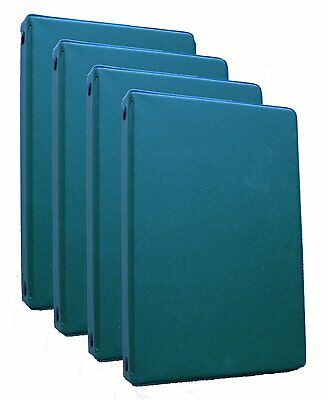 Mead (46000) 6-Ring green Memo Books, Each Containing 3 x 5, 4 pack