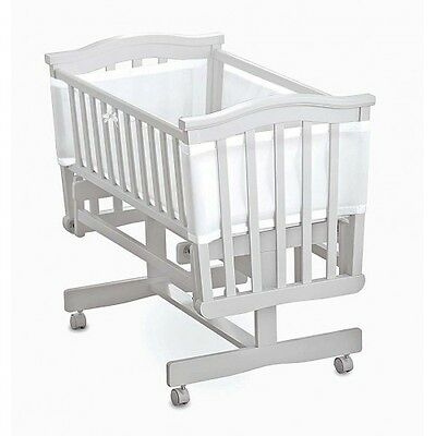 Breathable Baby Mesh Crib Liner Bumper