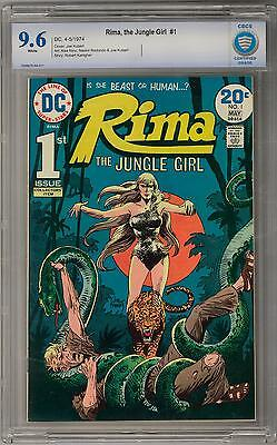 Rima, The Jungle Girl #1 CBCS 9.6 (W) Joe Kubert Cover