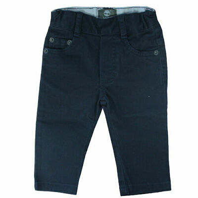 Timberland Kids Toddlers Boys Navy Regular Slim Fit Pants Trousers T0083 408 R15