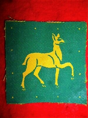 South Western District Printed Formation Patch WW2 - UK
