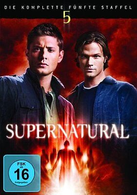 6 DVD-Box ° Supernatural - Staffel 5 ° NEU & OVP