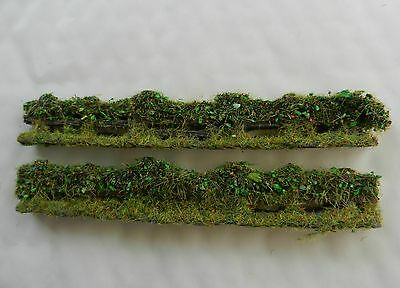 Bush Covered Fence Japf4 ~ Scenery For Model Rail Oo / Ho Scale, Brand New