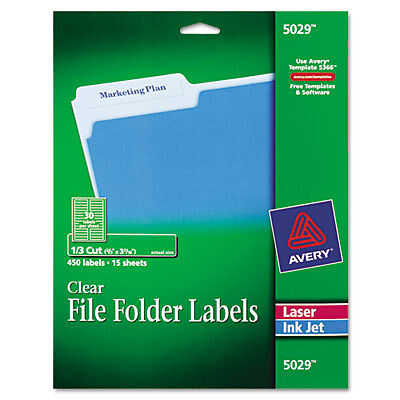 "Avery Dennison Ave-5029 Filing Label - 0.66"" Width X 3.43"" Length"