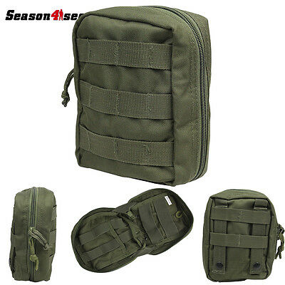 Utility Outdoor Molle Tactical Military First Aid Kit Survival Pouch Dump Bag