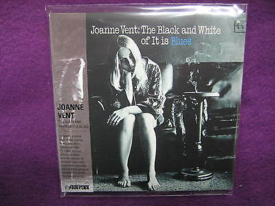 JOANNE VENT / THE BLACK AND WHITE OF IT IS BLUES MINI LP CD NEW White Cloud