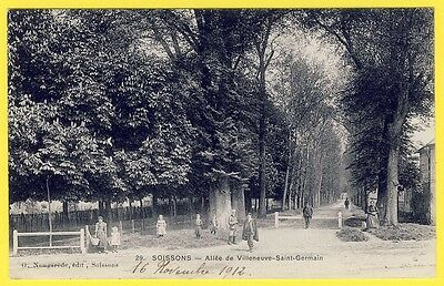 Cpa carte postale ancienne 02 aisne camp de sissonne for Bureau 02 villeneuve st germain