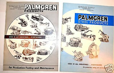 2 PALMGREN  PRODUCTS CATALOGS #207 & STEEL PRODUCTS  210 #RR15 Rotary Table Vise