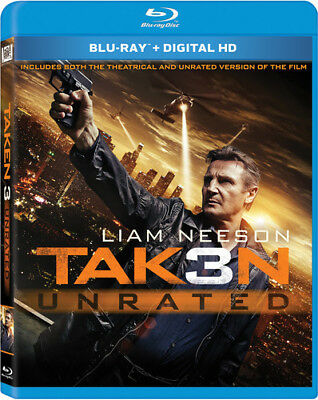 Taken 3 [New Blu-ray] Digitally Mastered In Hd, Dolby, Digital Theater System,