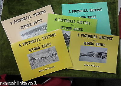 #ff.  Five Pictorial History   Books On  Wyong Shire, Nsw
