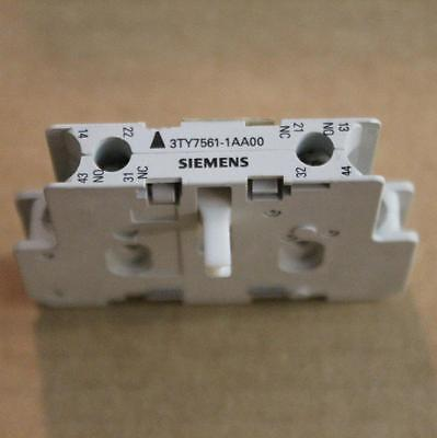 SIEMENS 3TY7561-1AA00  Auxilliary Contact Used More Available