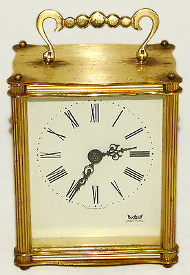 """SMITHS ASTRAL - Gold - 4"""" - Battery Powered Clock - Vintage!"""