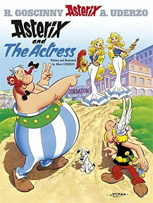 Asterix And The Actress by Albert Uderzo (text and illustrations) Hardback Book