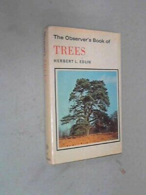 The Observer's Book of Trees by Herbert L Edlin Hardback Book The Cheap Fast