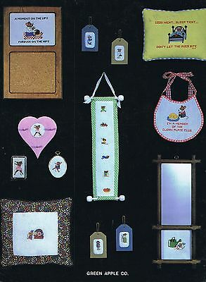 Mouse Creations 2 Cross Stitch Book 30 Whimsical Mouse Designs