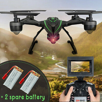 JXD 510G FPV Quadcopter RC Drones with HD Monitor Camera 5.8G FPV Upgraded 509G