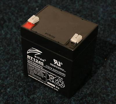 Ritar RT1245 - Brand new Battery - 12V 4.5Ah cell