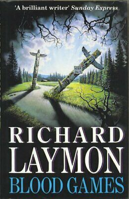 Blood Games by Laymon, Richard Hardback Book The Cheap Fast Free Post