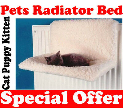 Pets Warm & Cosy Radiator Fleece Bed Basket Cat Dog Puppy Kitten Hammock Basket