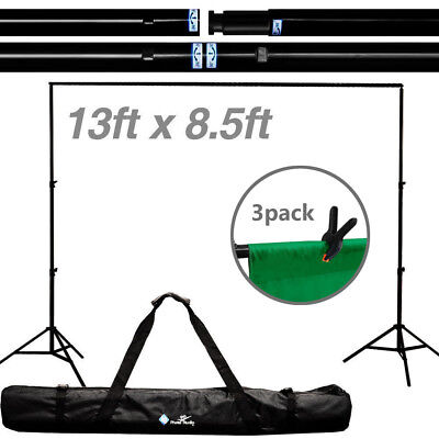 8.5 x 13 ft Photography Stand Heavy Duty Support Backdrop Photo Video Studio Kit