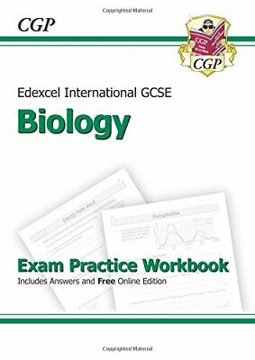 Edexcel International GCSE Biology Exam Practice Workbook with A... by CGP Books