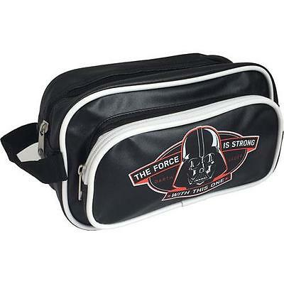 Star Wars - The Force Is Strong Retro Toiletries / Wash Bag - New & Official