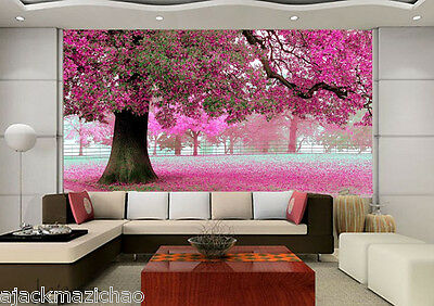 Large Cherry Tree61 Wall Paper Wall Print Decal Wall Deco Indoor wall Mural Home