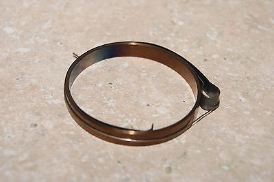 German Made Main Spring Loop End New  Clock Parts 3/16 Inch Wide