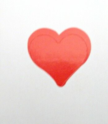 "3/4"" HEART TANNING STICKER OR Scrapbooking Crafts 50 CT"