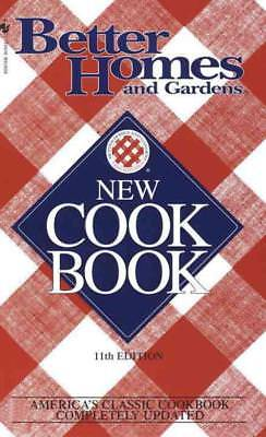 Better Homes And Gardens New Cook Book - New Paperback Book