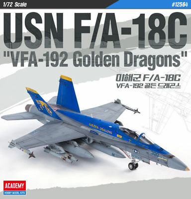 Academy USN F/A - 18C VFA-192 Golden Dragons in 1:72 Academy 12564