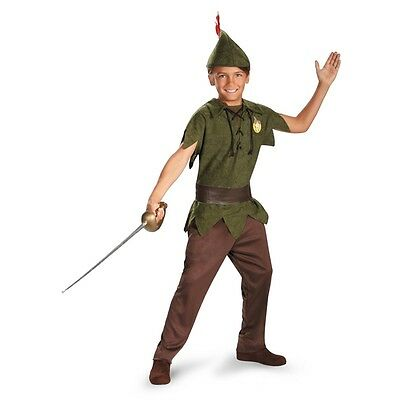 Disney Peter Pan Boys Standard Child Costume | Disguise 5963