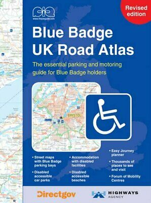 Concise Blue Badge UK Road Atlas Spiral bound Book The Cheap Fast Free Post