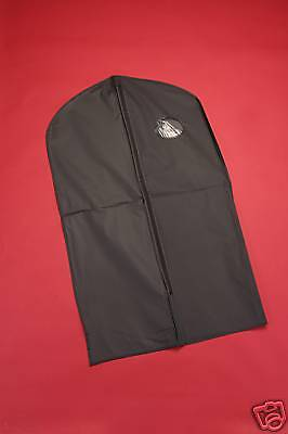 10 Black Vinyl Garment Bag Tuxedo Waterproof Bag 40""