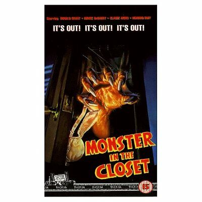 MONSTER IN THE CLOSET Troma Horror VHS NEW SEALED