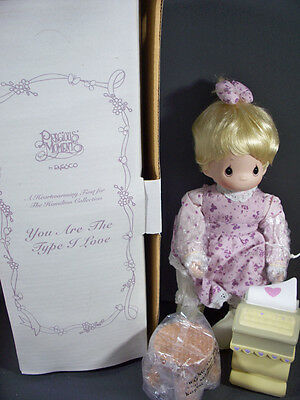 New Precious Moments You Are The Type I Love Hamilton Collection~Enesco Doll