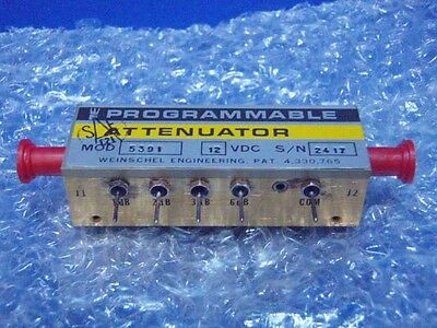 Weinschel Model 5391 Programmable Attenuator