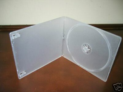 1000 7Mm Slim Poly Case W/sleeve, Clear - Psc7
