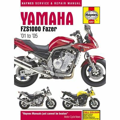 Workshop Manual Yamaha FZS1000, FZS1000S Fazer 2001-2005