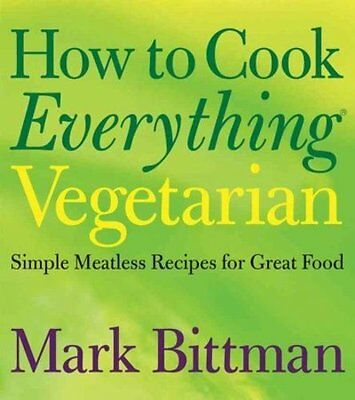 How To Cook Everything Vegetarian - New Hardcover Book