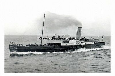 rp12645 - Paddle Steamer - Queen of the North , built 1895 - photo 6x4